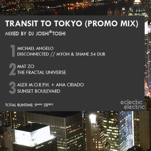 Transit to Tokyo Promo Cover